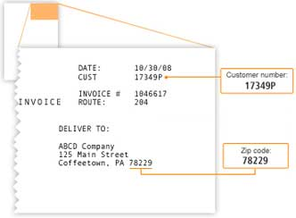 Mailed Invoice Sample