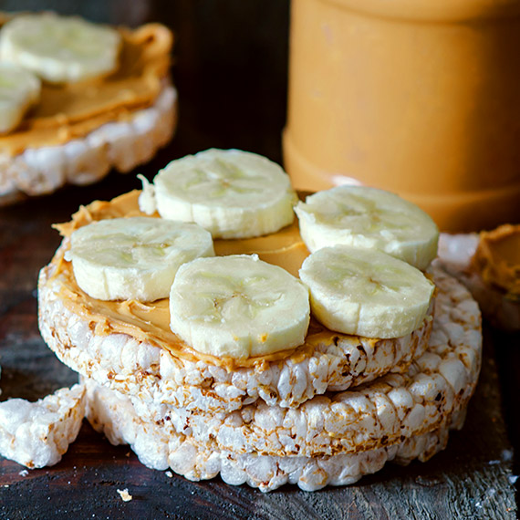 Loaded Rice Cakes